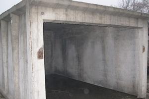 Ремонт железобетонных гаражей фундамент железобетонный серия