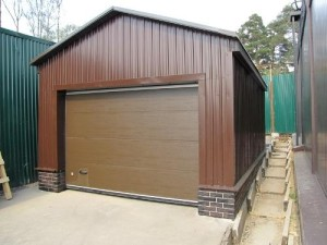 План гаража с мансардой фото